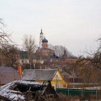Грустный вид на осенний Волоколамск :: Николай Дони