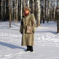 Я , в зимнем лесу. :: Мила Бовкун