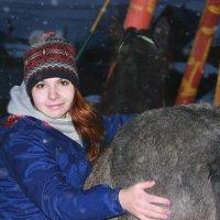 Хаспия и ее хозяйка Руслана :: Кристина Щукина
