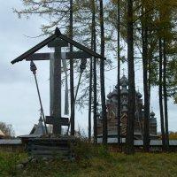 Голгофский Поклонный крест. Храм Покрова Пресвятой Богородицы :: Елена Павлова (Смолова)