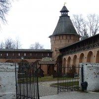"""Детская площадка - """"Спасский детинец"""" в Спасо-Евфимиевом монастыре :: Galina Leskova"""