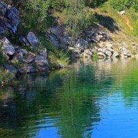 Голубое озеро :: Галина Стрельченя