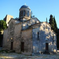 Храм апостола Симона Кананита в Новом Афоне (Абхазия). :: Сергей Галкин