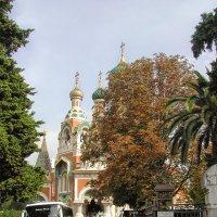 Русский православный собор Святого Николая. 1912.Ницца :: Tata Wolf