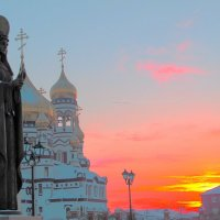 Храм Рождества Христова и великомученица Варвара :: Нина северянка