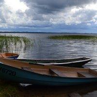 Пейзаж с лодками. :: zoja