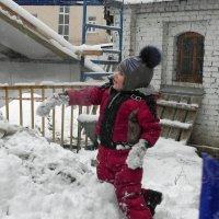 Снежные варежки. :: Oleg4618 Шутченко
