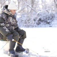 на зимней рыбалке :: Владимир Артюхов