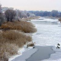 И речка подо льдом блестит... :: Валентина ツ ღ✿ღ