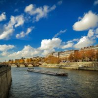Париж...р.Сена...осень... :: Александр Вивчарик