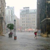 Дождик в городе... :: Илья Подоляко