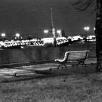 Одинокая скамейка. :: Денис Пересыпкин