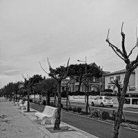 набережная у моря на старом популярном курорте :: Елена Мартынова
