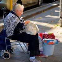 Старость в городе :: Ростислав