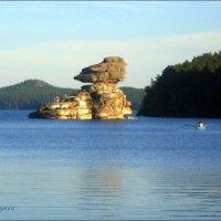 Скала Сфинкс на озере Боровое. :: Anna Gornostayeva