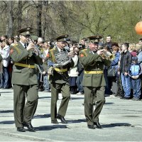 Военный оркестр :: Дмитрий Конев