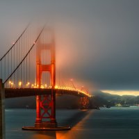 Дмитрий Виноградов - Туманый вечер, Golden Gate Bridge, San Francisco :: Фотоконкурс Epson