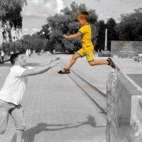 Важный прыжок :: Сергей Перминов
