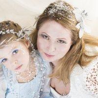 дочка и мама :: Валерий Синегуб