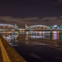 Мост Петра Великого. :: Сергей Еремин