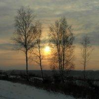 Морозный закат. :: nadyasilyuk Вознюк
