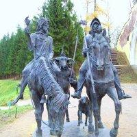 Скульптурная группа «Рыцарь, Смерть и дьявол» :: alemigun