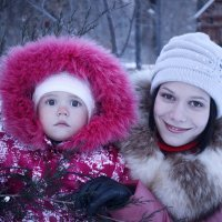 Арина и Люда :: Lika Jena