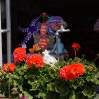 Интересный кран в городе Меше :: Елена Мартынова