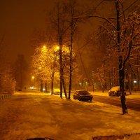 В Москве - снег (Dsc09433) :: Андрей Лукьянов