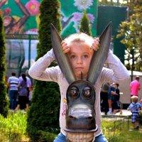 С осликом! :: Анна Борисенко