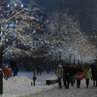 Когда у ГУМа падал снег :: Павел Myth Буканов