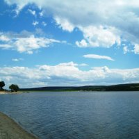 Водохранилище, с.Кугуки :: Инна Буяновская