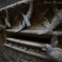 Почтовый ящик в соборе Святого креста и Святой Евлалии, Барселона, Испания. :: Serge Prakhov