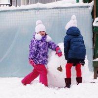 Вот такой снежный ком! :: Svetlana27