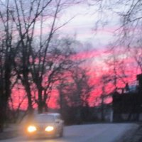 Осенний закат :: вера Верхозина