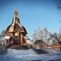 Бювет-часовня Богоявления (Крещения) :: Виктор Марченко