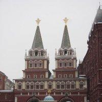 Воскресе́нские (И́верские) воро́та в Москве :: Борис Гребенщиков