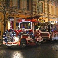 Поезд в Рождество :: Виктор (victor-afinsky)