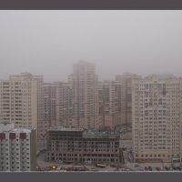 Самарские новостройки в декабрьский туман :: Арсений Корицкий