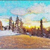 Зимний пейзаж :: Лидия (naum.lidiya)
