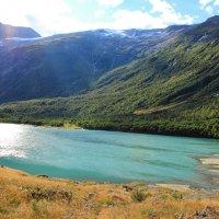 Ледниковое озеро... :: Aleksandrs Rosnis