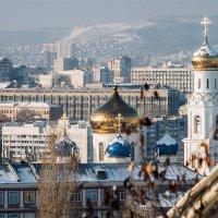 Саратов_купола собора :: Андрей ЕВСЕЕВ