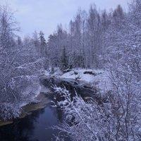 зимняя   ....река... :: Ольга Cоломатина