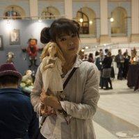 Сатоко Шинкэ - японская кукольница :: marmorozov Морозова