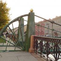 Почтамтский мост. Фрагмент. :: Владимир Гилясев