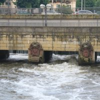 Мост через реку Ляйне :: Gennadiy Karasev