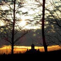 Закат в моём городе... :: Сергей Петров