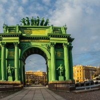 Нарвские триумфальные ворота (вариант 2) :: Владимир Демчишин
