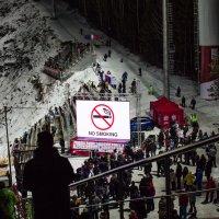 На горе Долгая (Кубок мира по прыжкам с трамплина.Нижний Тагил) :: Caша Джус