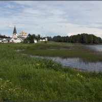 Валдайский Иверский Святоозерский Богородицкий мужской монастырь :: Надежда Лаврова